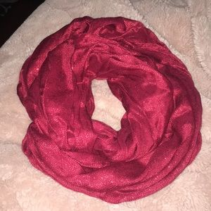 Red Infinity Scarf EXPRESS